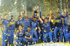 IPL 2019 Winner Trophy
